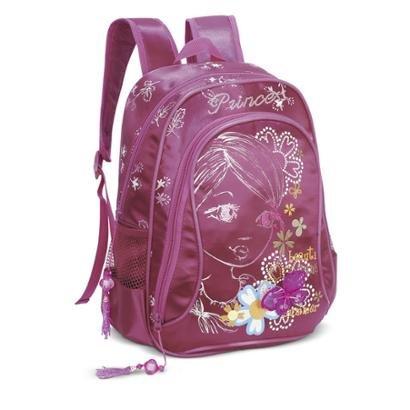 Mochila Infantil LS Bolsas com bolso frontal e 2 bolsos laterais - Feminino
