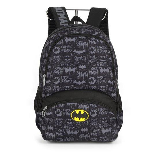 Mochila Infantil Luxcel Batman - Preto