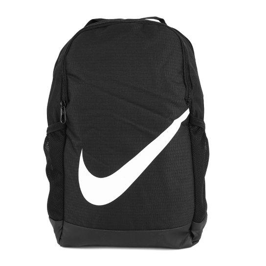 Mochila Infantil Nike Brasilia 18 Litros - Preto+Branco