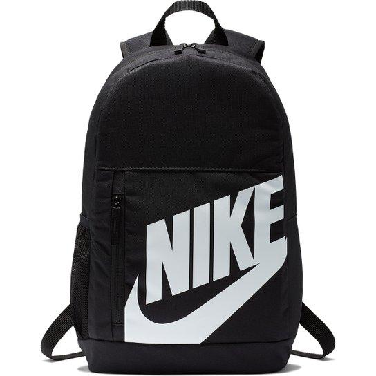 Mochila Infantil Nike Element - Preto+Branco