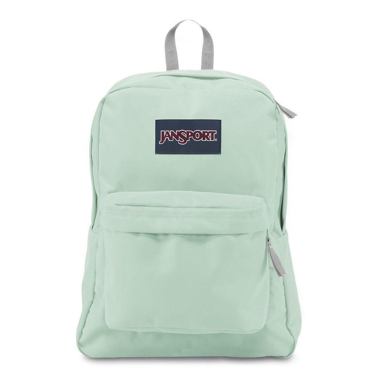 Mochila Jansport Superbreak Brook Green Verde - Compre Agora  88679e8b76b