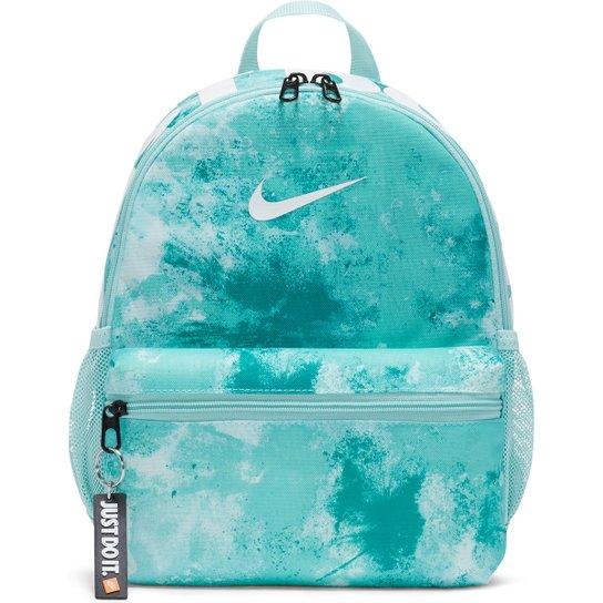Mochila Juvenil Nike Brasilia JDI Mini - Azul Claro