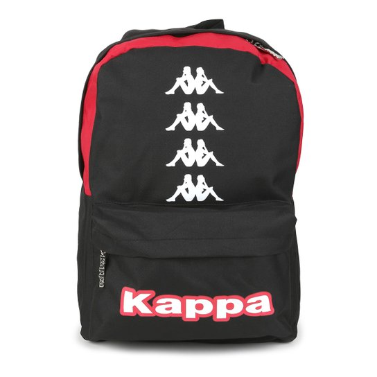 Mochila Kappa Win 17 - Preto+Vermelho