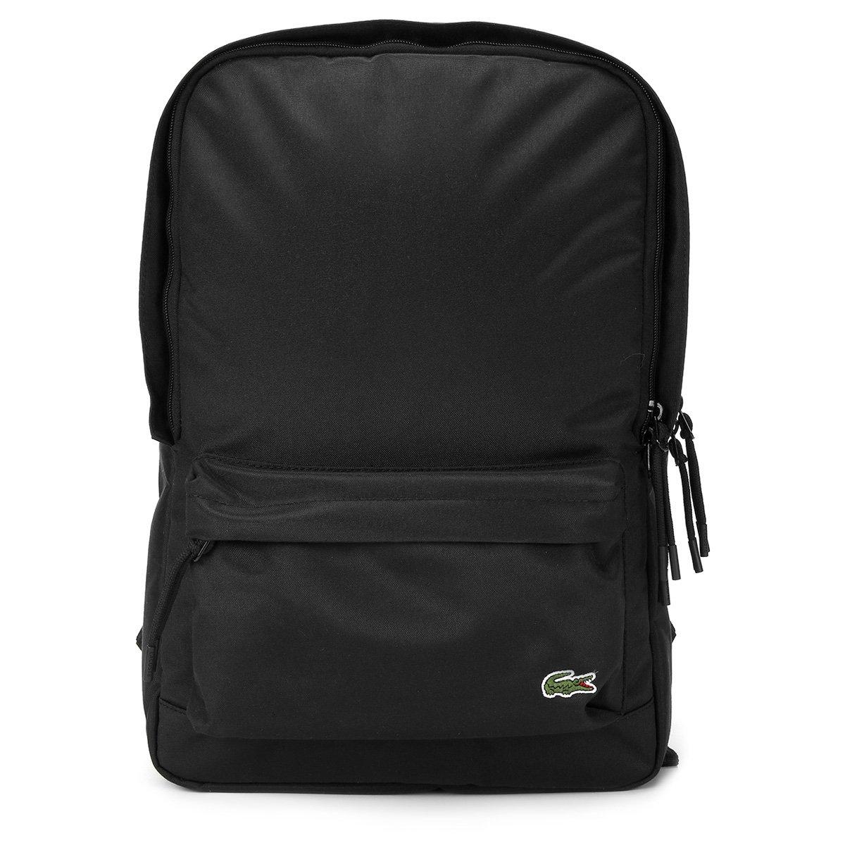 f3f40d7784141 Mochila Lacoste Square Backpack Masculina - Compre Agora