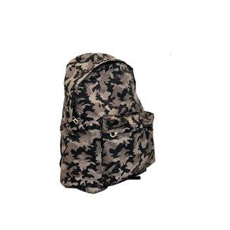 Mochila militar confortável com bolso externo e zíper