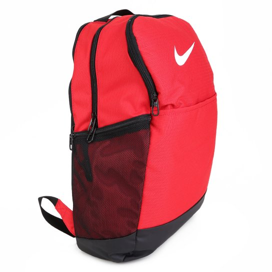 Mochila Nike Brasília 9.0 24 Litros - Vermelho+Preto