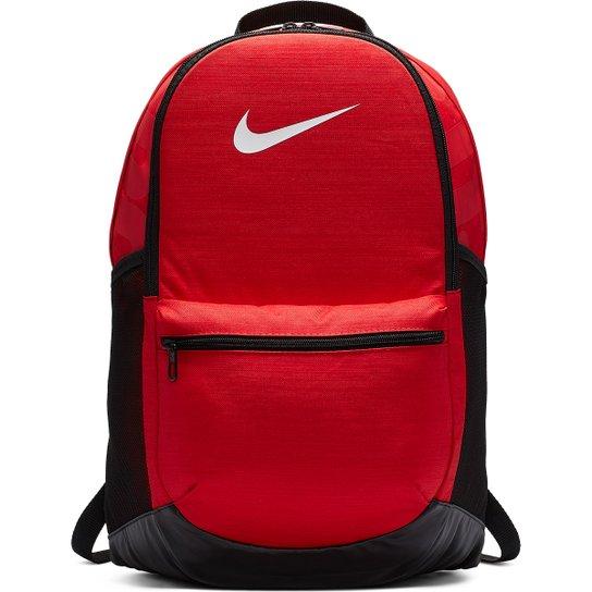 Mochila Nike Brasília M - 24 Litros - Vermelho+Preto