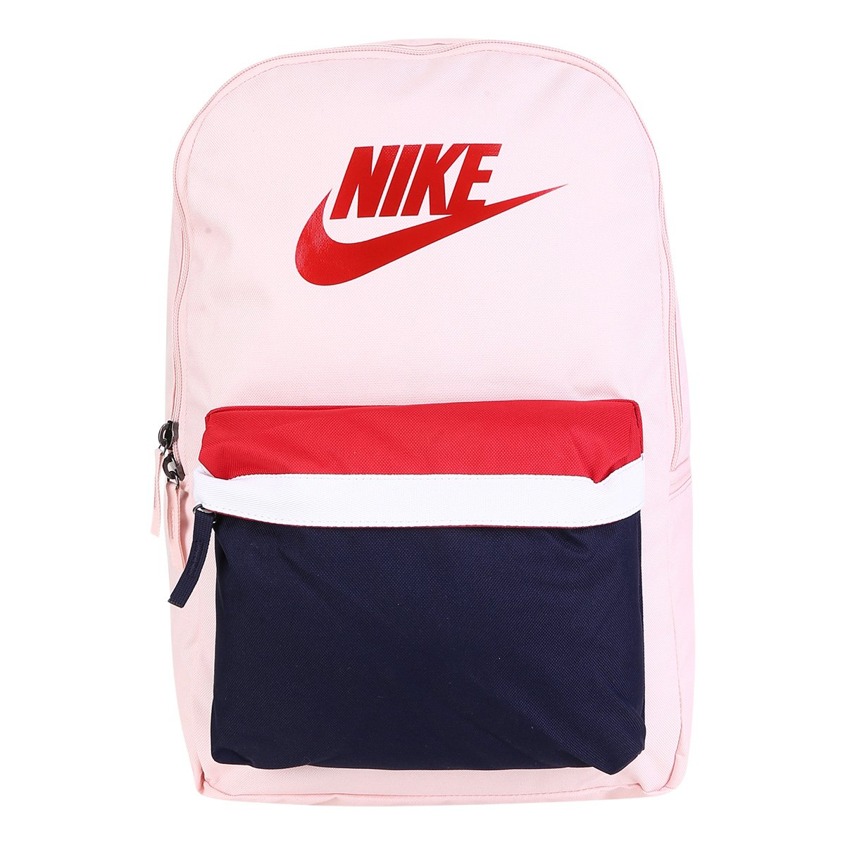 Tumor maligno Escuela primaria pasión  Mochila Nike Heritage 2.0 - Rosa e Vermelho   Netshoes