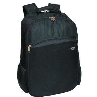 Mochila Notebook LS Bolsas C/ compartimento estofado P/notebook divisão frontal 3 bolsos