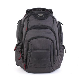 Mochila Ogio Renegade RSS Pack Black Pindot Cinza