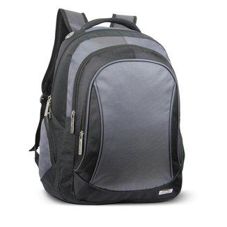 Mochila para Notebook LS Bolsas C/ compartimento estofado P/ notebook, divisão frontal 3 bolsos