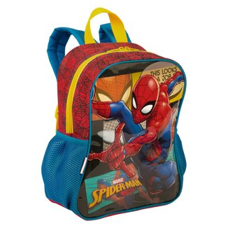 Mochila Pequena Spiderman 19M Infantil Sestini