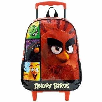 Mochila Rodinha Infantil Angry Birds Xeryus 8970