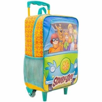 Mochila Rodinha Infantil Scooby Doo 14 Mistery Xeryus 8881