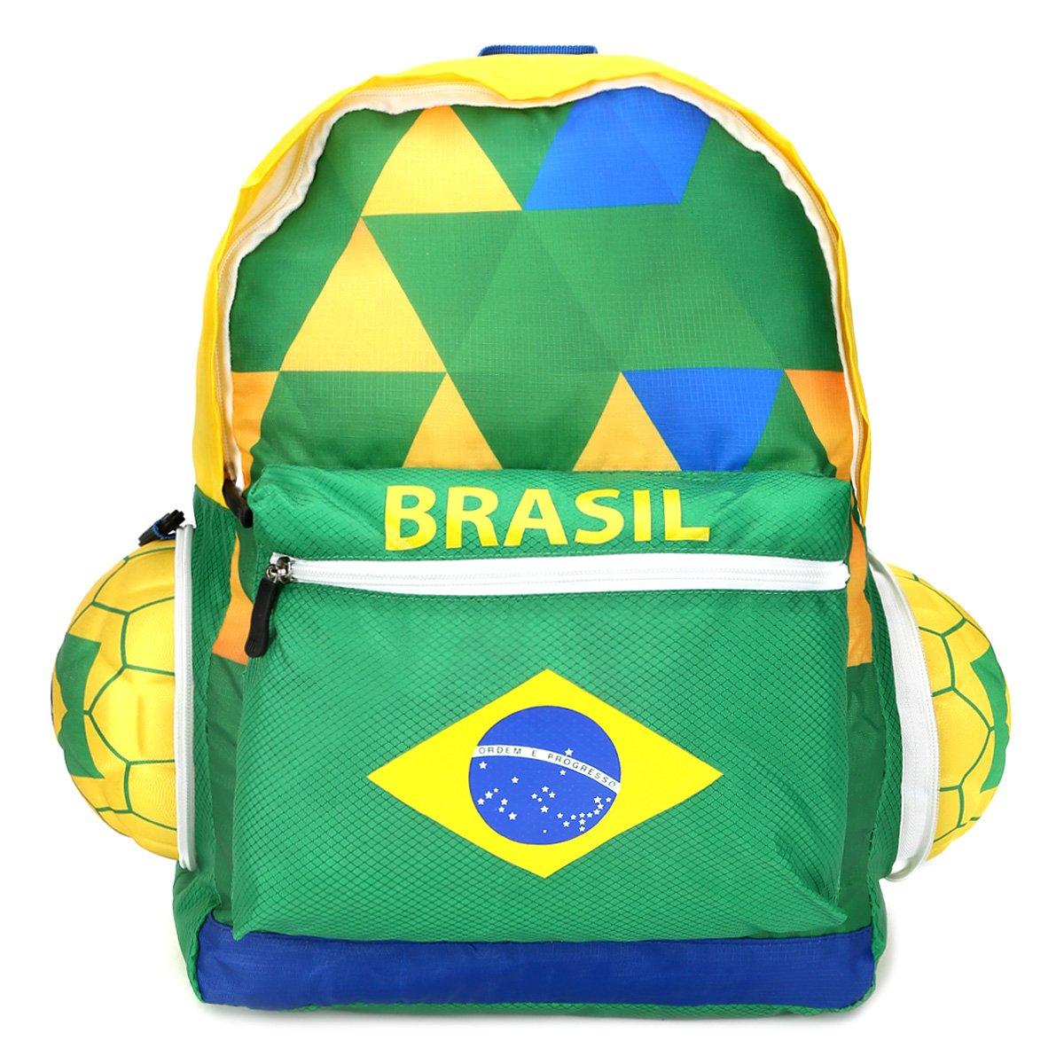 Mochila Seleção Brasil II Bola - Compre Agora  20113a03c3cd6
