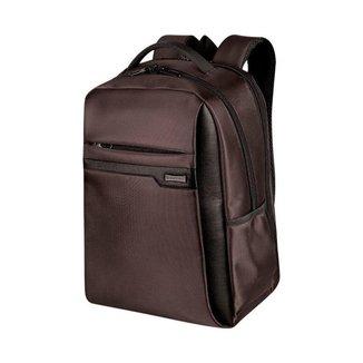 Mochila Sestini Laptop Slim Prime 2 Compartimentos Marrom