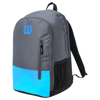 Mochila Team Azul e Cinza Modelo 2021 - Wilson
