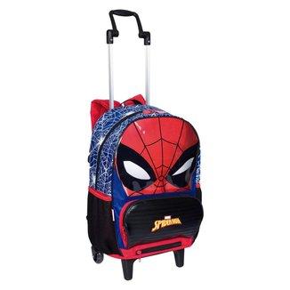 Mochilete Grande 2 Em 1 Spiderman 19Z Infantil Sestini