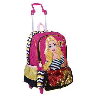 Mochilete Grande Barbie 19Z Infantil Sestini