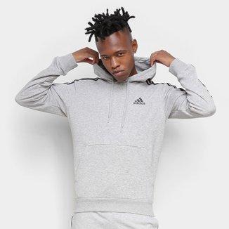 Moletom Adidas 3 Listras Logo Classic Masculino