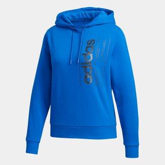 Moletom Adidas Brilliant Basics Capuz Feminino