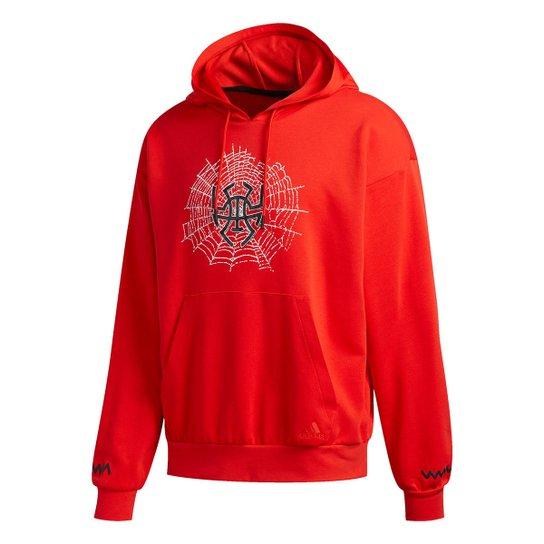 Moletom Adidas Donovan Mitchell D.O.N. Pullover Masculino - Vermelho