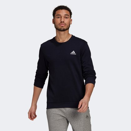 Moletom Adidas Essentials Embroidered Small Logo Masculina