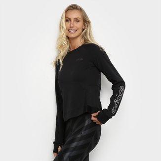 Moletom Adidas Fast And Confident Feminino