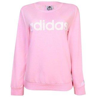 Moletom Adidas Feminino Lin FT SWT