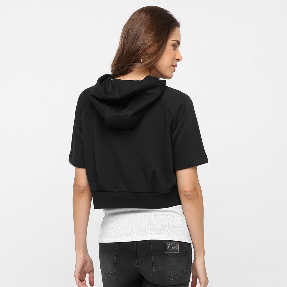 Moletom Adidas Originals Run Crop Hood c  Capuz - Compre Agora ... 838de85a07ceb