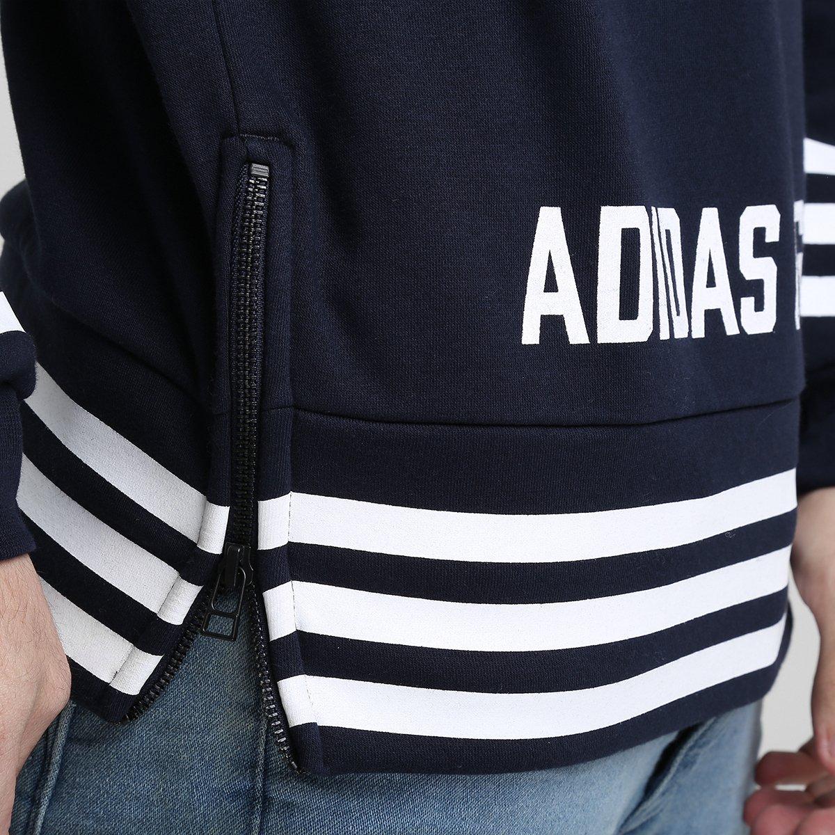 Moletom Adidas Street Grp Crew - Compre Agora  ad43a0c832e3c