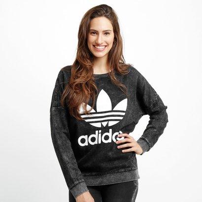 60579145f47 Moletom Adidas Track Denim - Compre Agora