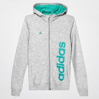 Moletom Adidas Yg Ess Lin c/ Capuz Infantil