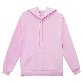 Moletom Aveloz Canguru Básico Rosa