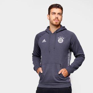 Moletom Bayern de Munique Viagem 21/22 Adidas Masculino