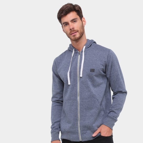 Moletom Billabong All Day Zip Masculino - Marinho
