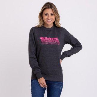 Moletom Billabong Logo Feminino