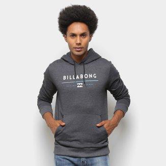 Moletom Billabong Tri-Unity Canguru Masculino