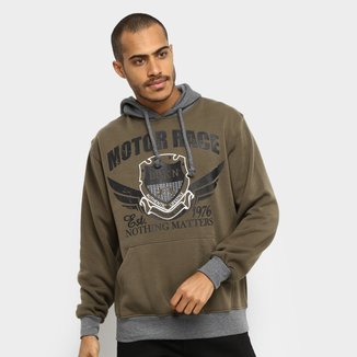 Moletom Broken Rules Motor Race Masculino