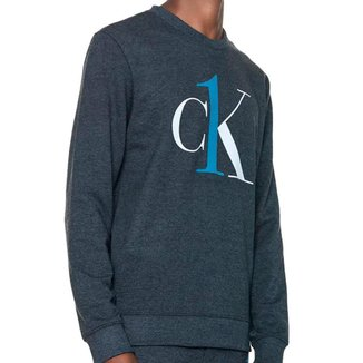 Moletom Calvin Klein Moletom Graphic Logo Masculino