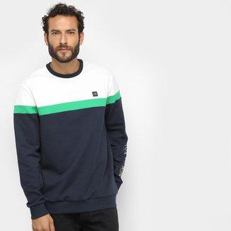 Moletom Calvin Klein Tricolor Masculino