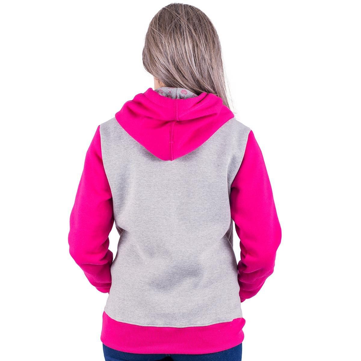 Moletom Canguru Alfa Candy Loves - Rosa - Compre Agora  32356e1543fa3