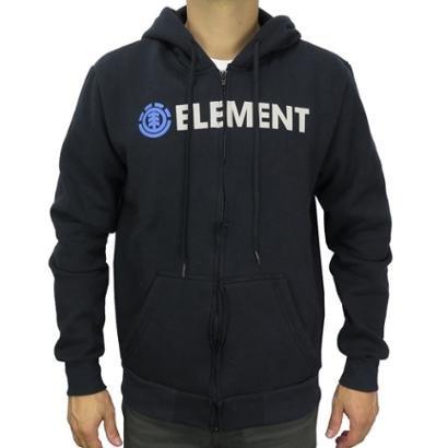 Moletom Canguru Element Blazin Zip Masculino