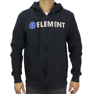 Moletom Canguru Element Blazin Zip Masculino