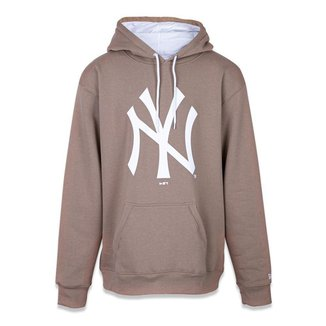 Moletom Canguru Fechado Plus Size New York Yankees Mlb New Era Masculino