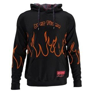 Moletom Canguru Flame Stripes Laranja MD02- P