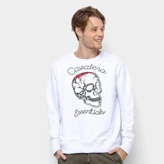 Moletom Cavalera Estampa Caveira Skull Line Masculino
