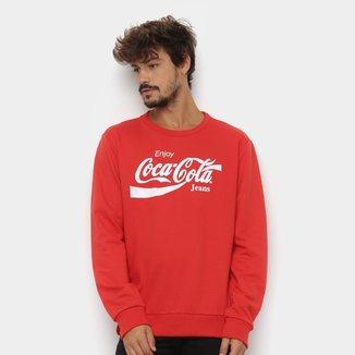 Moletom Coca-Cola Aroma Masculino