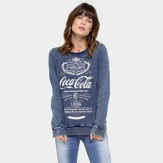 Moletom Coca-Cola Estampado