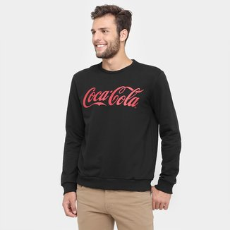 Moletom Coca Cola Fechado Logo